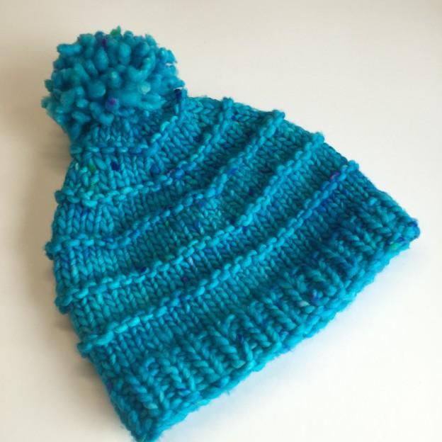 Kühle Farben für warmen Kopf Der Bommel ist wieder modern