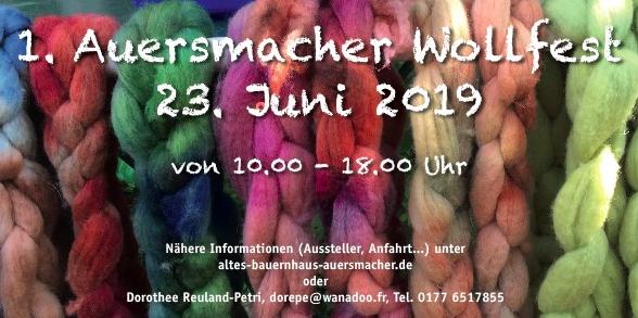 Auersmacher Wollfest 2019